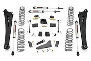 Rough Country 5 Lift Kit Radius Arms And V2 Shocks For Ram 14-18 2500 4wd D
