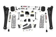 Rough Country 5 Lift Kit Radius Arms V2 Shocks For Ram 14-18 2500 4wd Gas