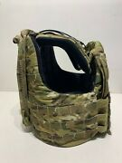 Large Crye Precision Cage Armor Chassis W/ Plate Bags Multicam Seal Devgru Cag