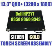Fyk37 - Dell 13.3 Lcd Qhd Assembly Silver