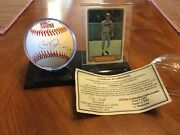 Cal Ripken Jr Auto Baseball And Rc Card Only 2632 Balls Sign Limited Edition