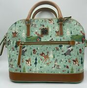 Nwt Dooney And Bourke Disney Parks Bambi And Forest Friends Satchel Actual Bag