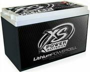 Xs Power Lithium Powersports Series Batteries With M6 Terminal Bolts Li-ps4b