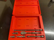 Snap On 6 Pc 3/8 Drive Handle Set 206afsp