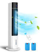 3-in-1 Evaporative Air Cooler 41 Portable Tower Fan Humidifier Remote Control