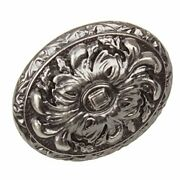 Gliderite Hardware 5710-bp-50 Old World Ornate Oval Cabinet Knobs 50 Pack 2 ...