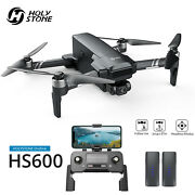 Holy Stone Hs600 Eis Gps Drone With 4k Kamera 2-axis Gimbal 5g Rc Quadrocopter