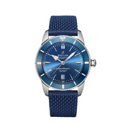 Superocean Heritage Ii Automatic 46 Ref Ab2020161c1s1 Blue Dial Complete