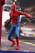 Movie Masterpiece Spider-man Homecoming 1/6 Scale Figure Spiderman F/s Wtrack