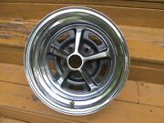 1970and039s Ford 14 X 7 Magnum 500 Chrome Wheel Very Nice Survivor Torino Mustang 3