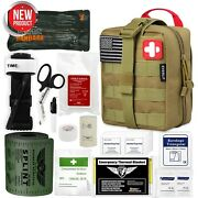 Emergency Trauma Medical First Aid Kit Sos For Car Trip Camping Military Combat