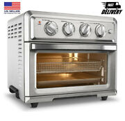 Cuisinart Toa60 Toaster Oven Convection Stainless Steel Air Fryer With Light New