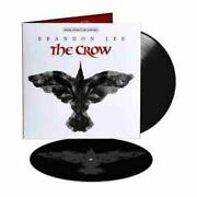 The Crow Soundtrack 2xlp Limited Crow Etching Vinyl Sealed