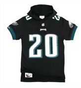 Mitchell And Ness Name And Number Hooded Shorts Philadelphia Eagles Brian Dawkins