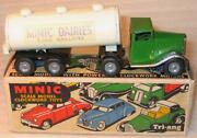 Tri-ang Minic Clockwork No 71m Articulated Milk.tanker. Excellent Boxed