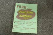 1938 Ford Model 81 A Deluxe Chassis Parts And Accessories Catalog Manual