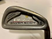 Tommy Armour 855s Silver Scot 6 Iron 32 Stiff Graphite Shaft G Force 2