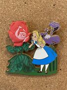Rare Disney Auctions Alice With Enchanted Talking Flowers Le 250 Pin 41469