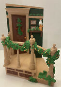 Dept 56 All Through The House Christmas Staircase Figurine Decor In Box Retired