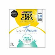 Purina Tidy Cats Lightweight Free And Clean Clumping Cat Litter