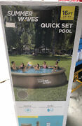 Summer Waves Elite Wicker Ring Pool 16and039 X 42 - Far Double Ratten