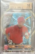 Mike Trout Rookie Rc 2011 Bowmanand039s Best Bgs 10 10 9.5 10 Rc Pristine Angels