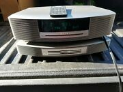 Bose Wave Music System Iii Titanium Silver Multi-cd Changer Remote Nice