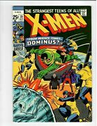 🚚 The X-men No.72 Key Issue 52 Pages In High Grade Oct.1971 Dominus