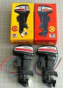 Mitsuwa Yamaha 55 Toy Outboard Motor Type A And B Set / The Motor Works.