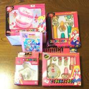 Sailor Moon Pieces Set At The Time Music Box Makeover Stick Nail Gloss And