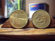 2 - West Hollywood Shop 25 Cent Trade Tokens West Hollywood Cal.
