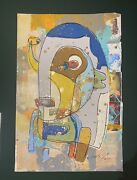 Bobby Kareem Hill Andldquoloved Or Fearedandrdquo V. Sold Out 1of1 Original - 26 X 36