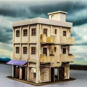 1/87 Ho Scale Diy Old-fashioned Factory Building Model Railway For Sand Table