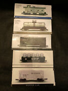 Southern Pacific N Scale Train Cars Caboose Canister Car Stock Tank + New