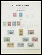Lot 33797 Stamp Collection Belgian Congo 1886-1969.