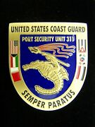 Us Coast Guard Port Security Unit 311 Commanding Officer Challenge Coin