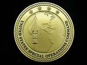 Ussocom Us Special Operations Command Commander Rare Version Challenge Coin