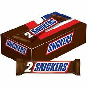 Snickers Sharing Size Chocolate Candy Bars 3.29-ounce Bar 24-count Box