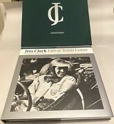 jim Clark Life At Team Lotus Limited Edition Book -1st Edition March 2007