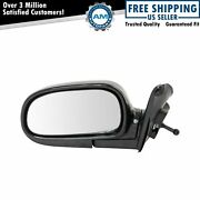Manual Remote Mirror Lh Left Driver Side For 93-97 Toyota Corolla