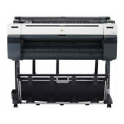 Canon Imageprograf Ipf780 36 Inch Color Large Format Printer 1 Roll Feeder