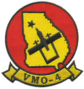 4 Marine Corps Vmo-4 Georgia Classic Wing Squadron Military Embroidered Patch
