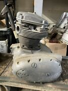 1972 Bsa Motorcycle 650cc Engine W Matching Frame - A65t Thunderbolt