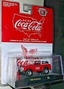 M2 Machines 2021 Coca-cola 1/64 Red 1966 Ford Bronco Limited Edition 9600 A08