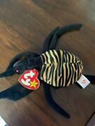 Rare Pre-owned 1997 Spinner The Spider Beanie W Tags. Pe Pellets