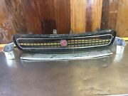 Mg Midget 1970-74 Andbull Original Front Grille With Surround And Badge. Used. Mg4227