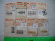 Lot Of 8 Detail Associates Assorted Freight Car Parts, Stirrup Steps, Ho Scale