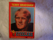 1971 Topps Terry Bradshaw Rookie Card 156, Laminated,pittsburgh Steelers.qb
