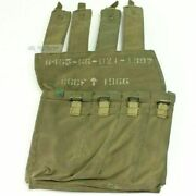 Australian Vietnam War F1/sterling Smg Mag Pouch - Early 1966 Issue