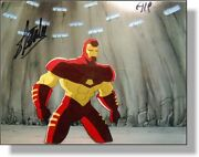 Signed Stan Lee Iron Man Hand Painted Original Production Cel Marvel